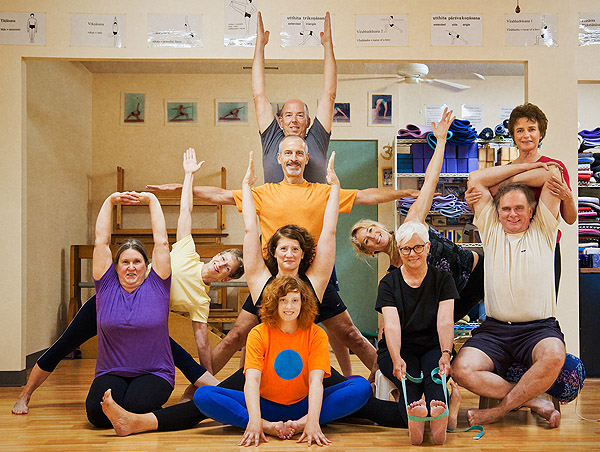 Friendship Yoga Students